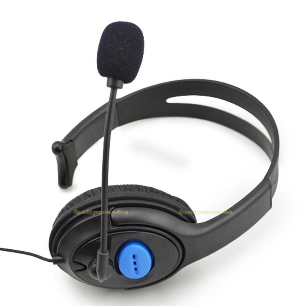 filaire gaming headset casques couteur st r o avec microphone pr jeux sony ps4 ebay. Black Bedroom Furniture Sets. Home Design Ideas