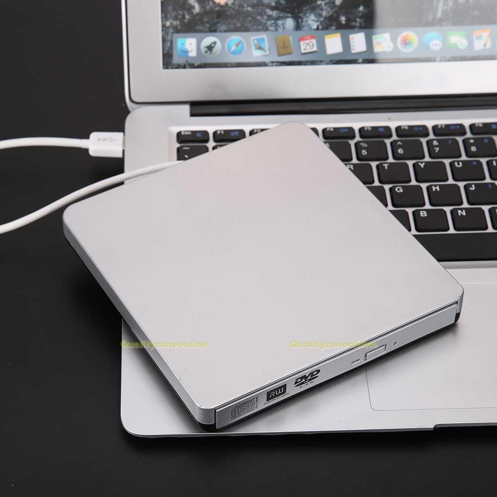 usb3 0 slim externe cd dvd rw dvd lecteurs drive pour pc mac ordinateur portable ebay. Black Bedroom Furniture Sets. Home Design Ideas