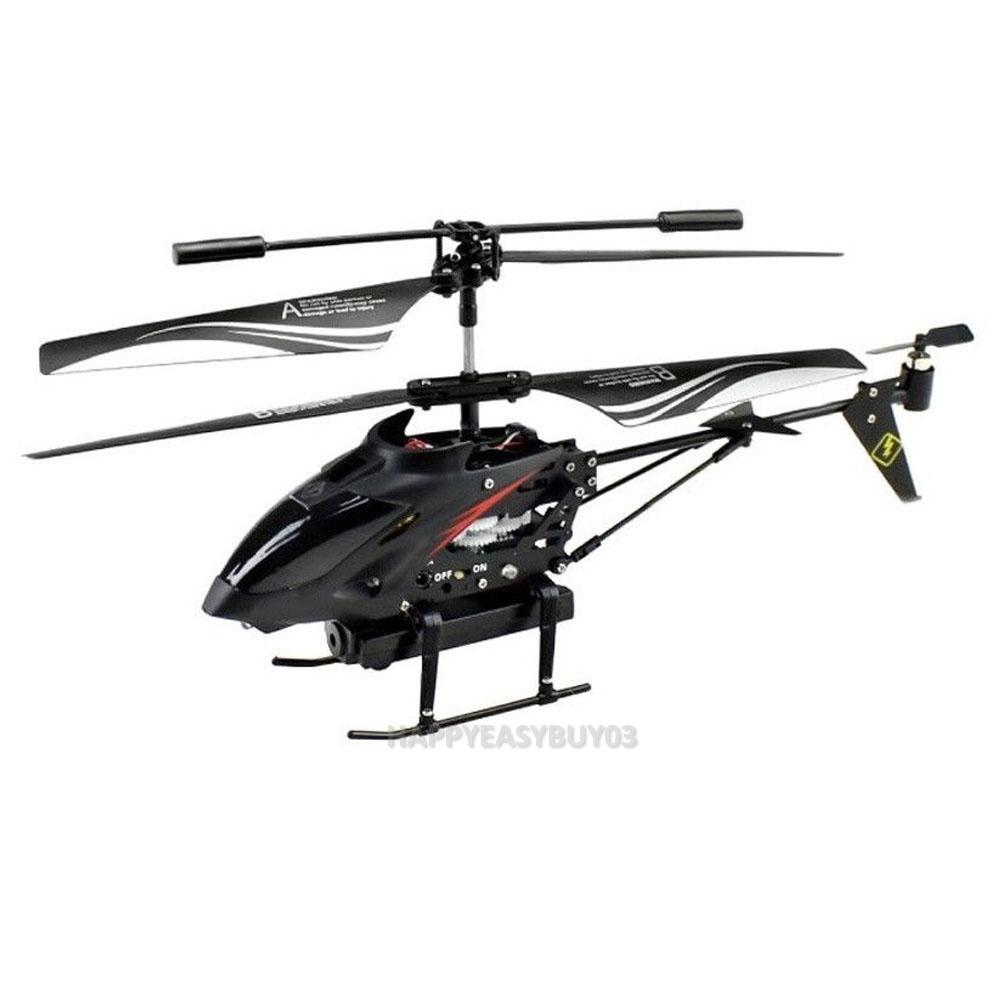 s977 35 ch radio remote control rc metal gyro helicopter