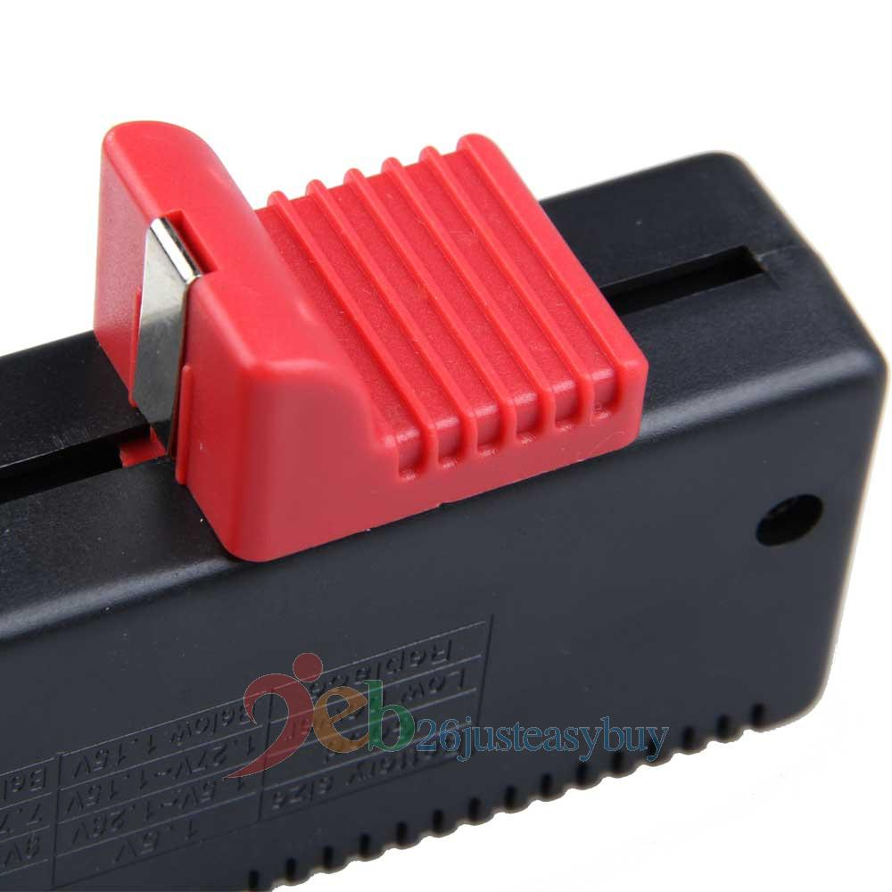 battery checker volt tester cell aa aaa c d 9v 1 5a button. Black Bedroom Furniture Sets. Home Design Ideas