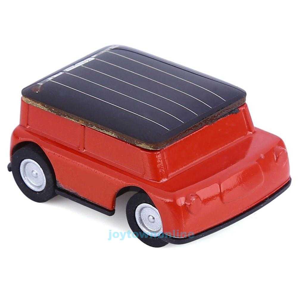 Mini Solar Power Car Educational Toy With Solar Panel For